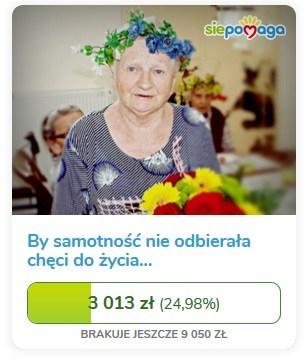 SiePomaga_Janina_Gajda_Dom_Seniora_Ludwisia